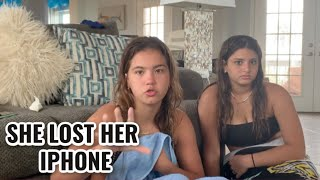 Alisson lost her iPhone in the Island | SISTERFOREVERVLOGS #798