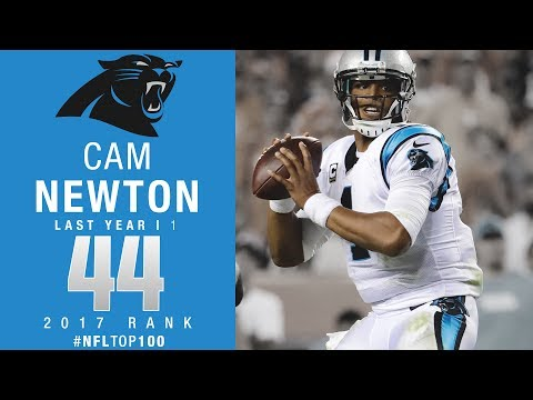 #44: Cam Newton (QB, Panthers) | Top 100 Players of 2017 | NFL