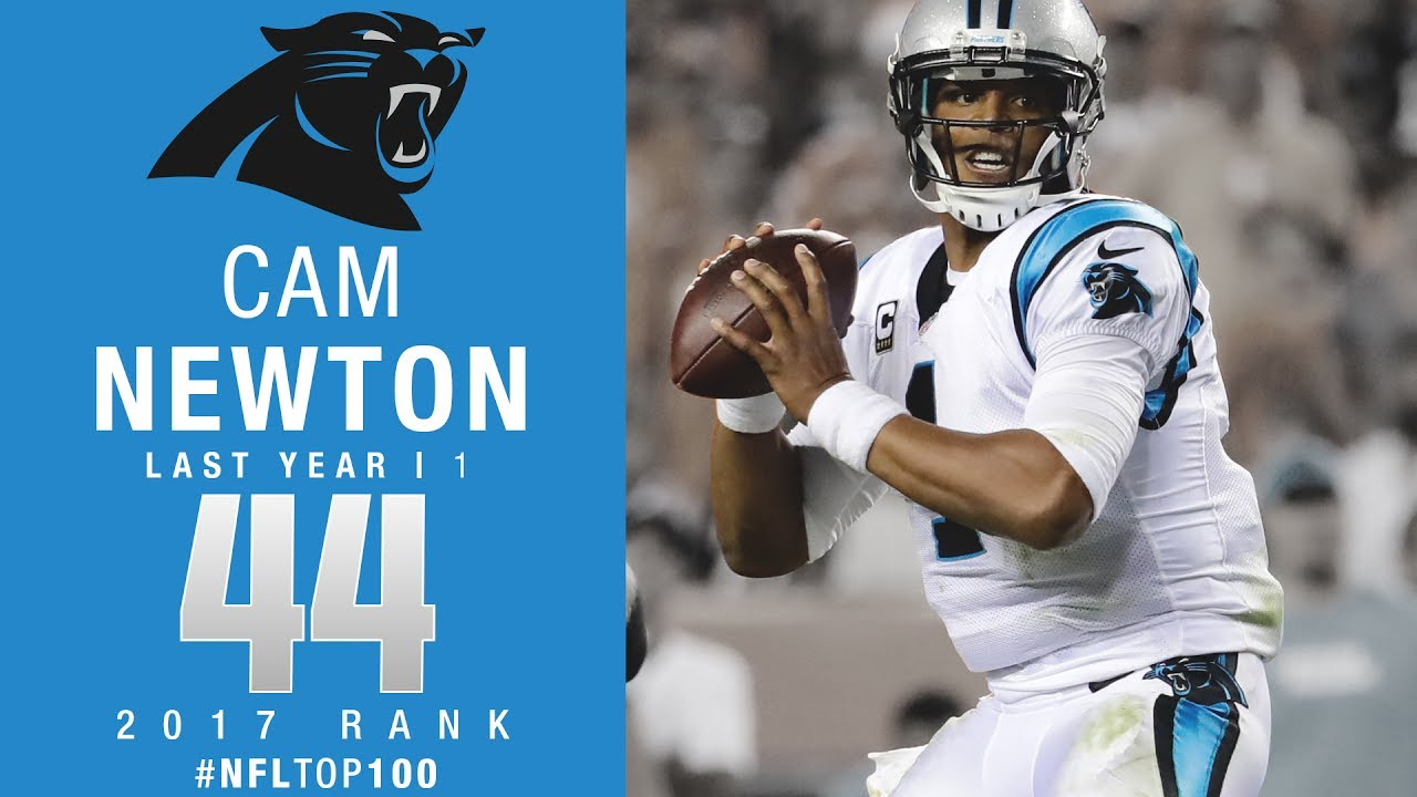 44 Cam Newton QB Panthers Top 100 Players of 2017