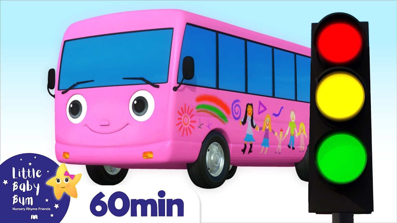 Wheels On The Bus +More Nursery Rhymes and Kids Songs | Little Baby Bum