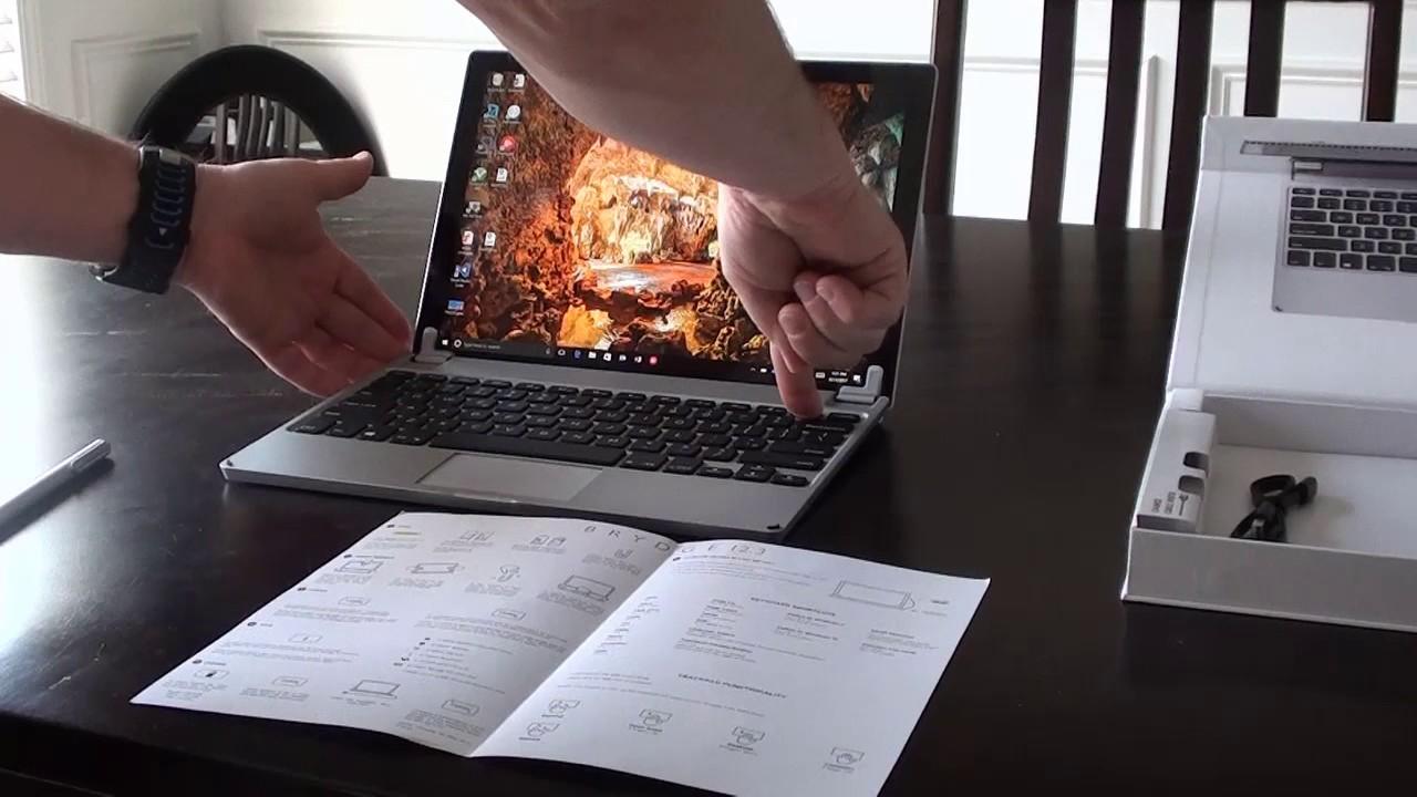 Brydge 12 3 Setup - Microsoft Surface Pro 3 or 4 Bluetooth Keyboard
