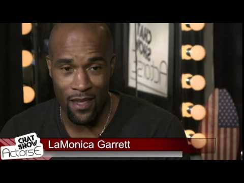Acting tips from LaMonica Garrett guests on ActorsE Chat with host Reggie Watkins