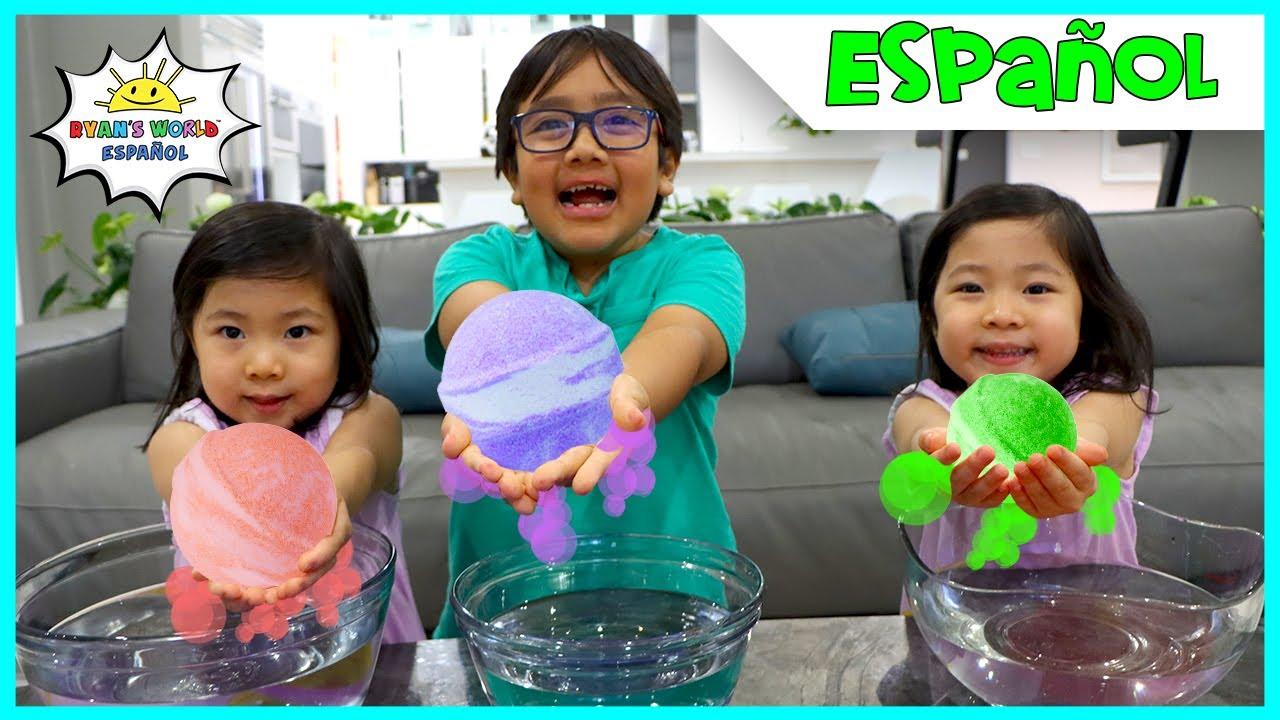 Cómo Hacer una Bomba De Baño de Juguetes Sorpresa de Bricolaje Para Niños