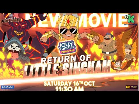 Download New Movie   Return of Little Singham   16th October 11:30AM    Discovery Kids India