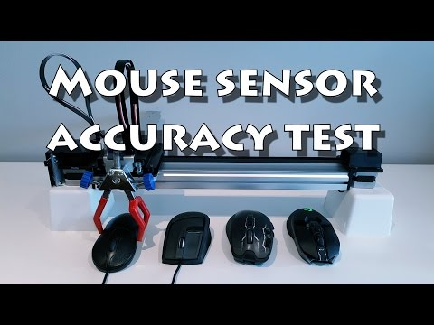Mouse sensor accuracy test (G900 vs G700s vs G9X)
