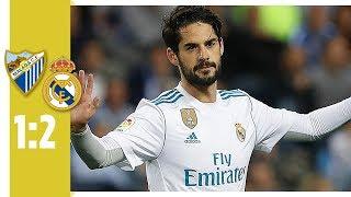 Isco leitet Sieg mit Traum-Schlenzer ein | FC Malaga - Real Madrid 1:2