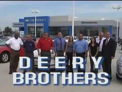 Deery Brothers Chevrolet >> Deery Brothers Chevrolet Commercial - YouTube