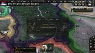 Every Serbia game ever in HOI4