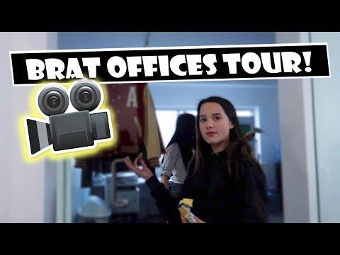 Brat Offices Tour 🎥 (WK 379.7) | Bratayley