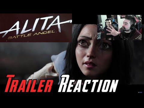 Alita: Battle Angel Angry Trailer Reaction!