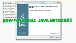 How to install Java jdk and netbeans 8.2(2017)