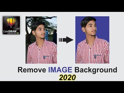 Remove Image Background in CorelDraw