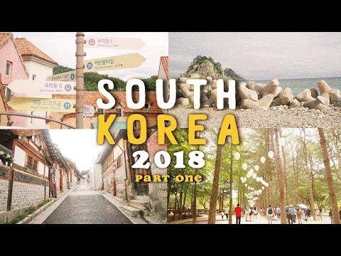 SOUTH KOREA 2018 🇰🇷 (part one)   Travel Vlog