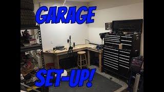 The PERFECT one car garage setup!