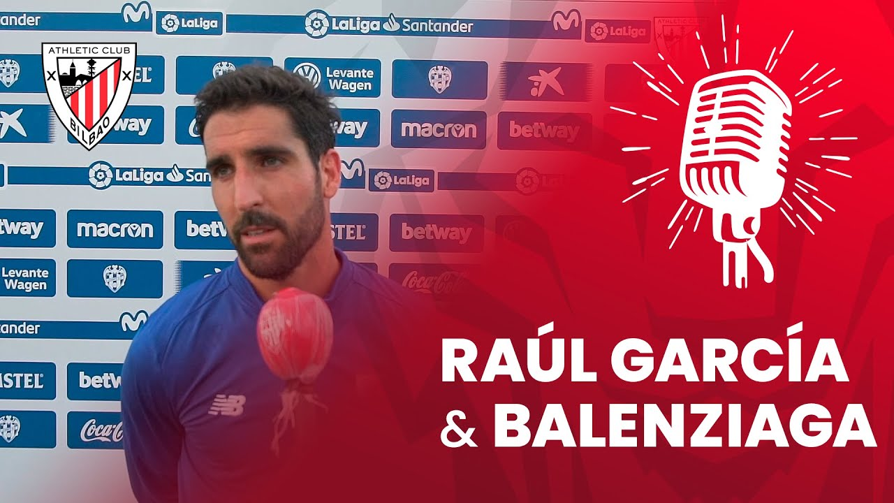 🎙 Raúl García y Mikel Balenziaga | post Levante UD 1-2 Athletic Club | J36 LaLiga 2019-20
