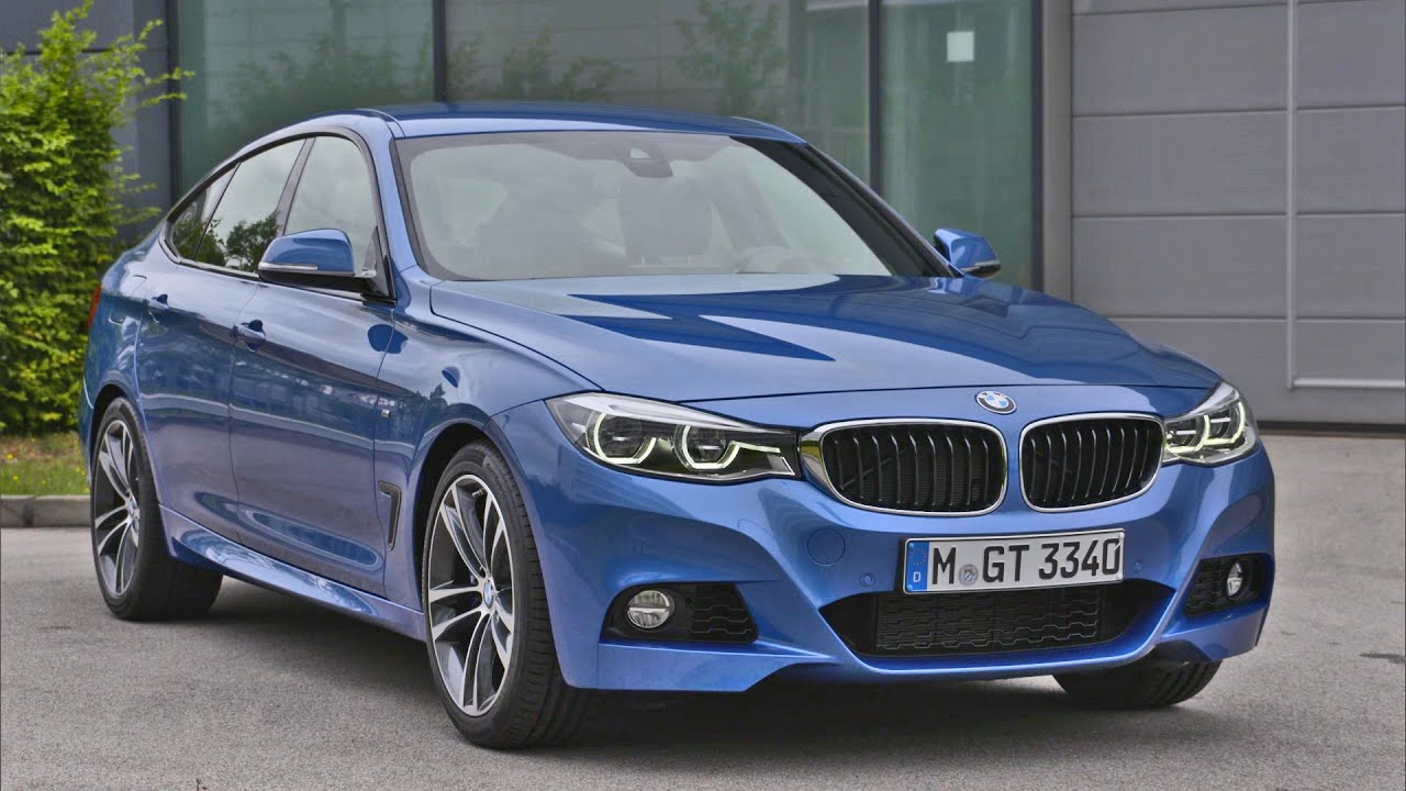 BMW 3 Series GT (2017) M Sport package | BMW 340i Gran Turismo - YouTube