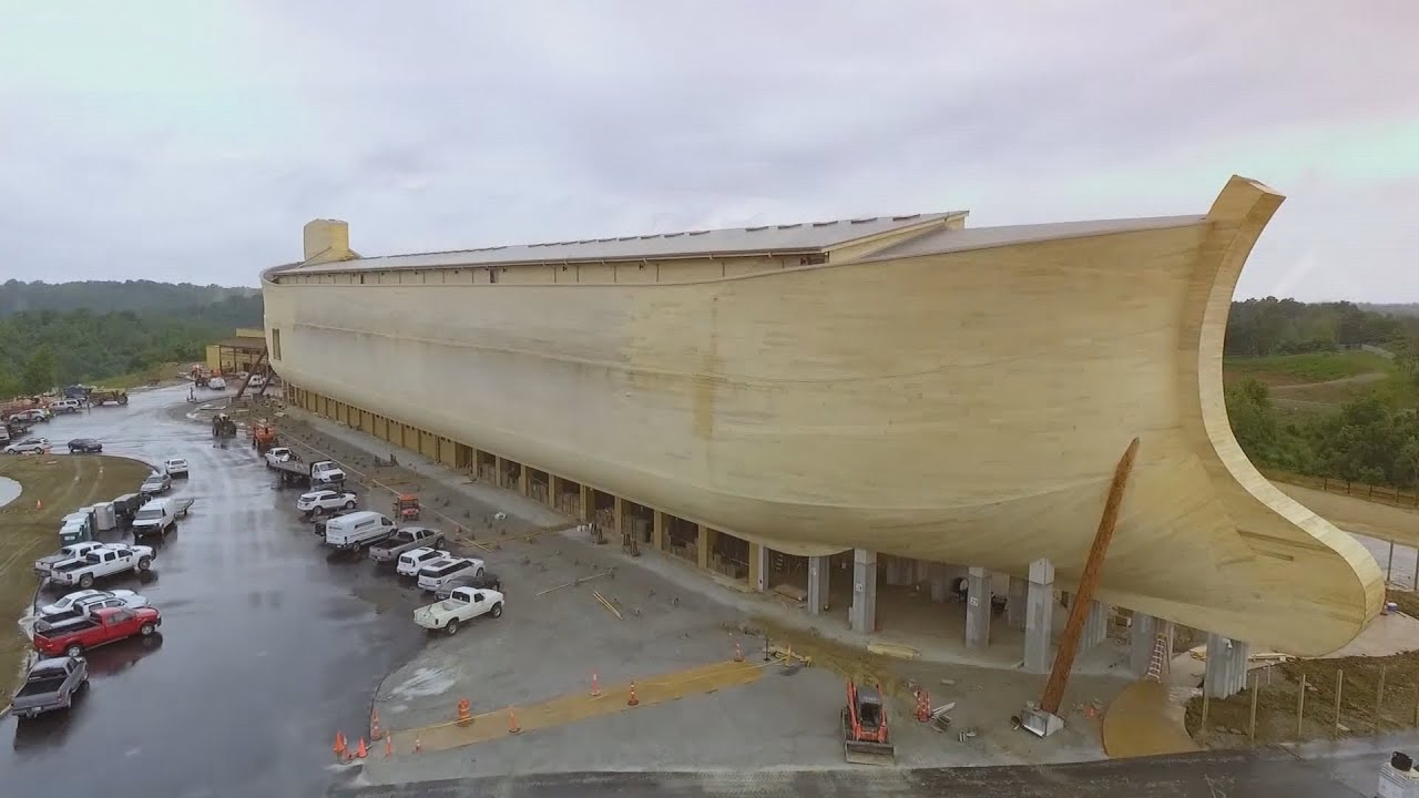 Noah's Ark replica - YouTube