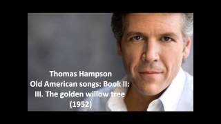 Thomas Hampson The complete 34 Old American songs Book