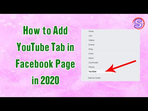 How to Add YouTube Tab in Facebook Page 2020