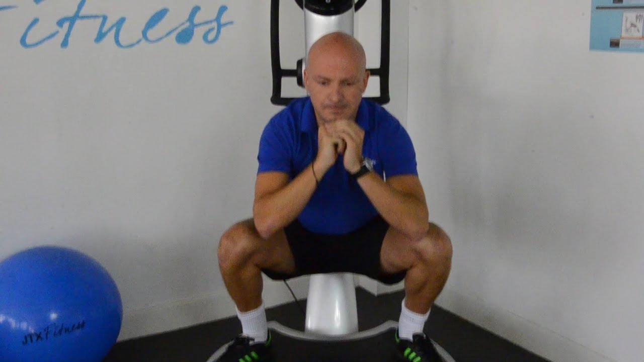 Inner Thigh Exercises Vibration Plate Youtube