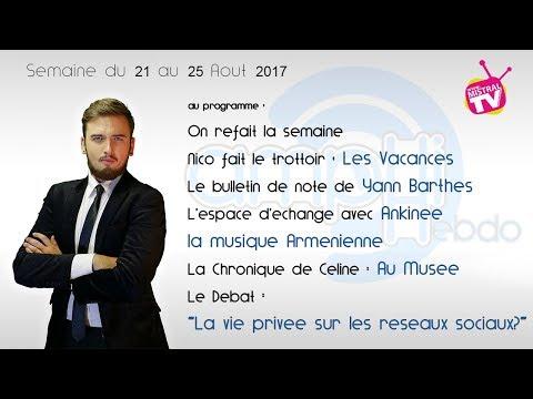 AMPHI Hebdo 25 08 2017