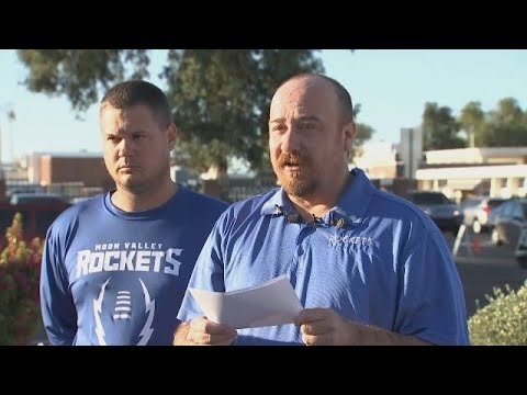 RAW VIDEO: Moon Valley football coach statement about player death