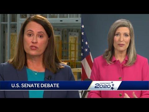 Recapping KCCI's US Senate Debate Between Ernst, Greenfield