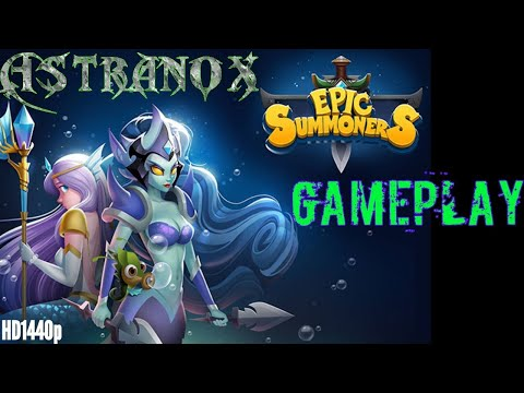 Epic Summoners: Battle Hero Warriors - Recording lost after - Gameplay Part 30 - Commentary Review