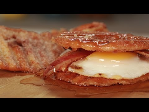 The ULTIMATE Breakfast Sandwich... with Donut Chips! - YouTube
