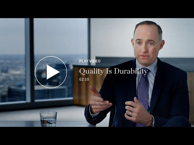 Quality Is Durability