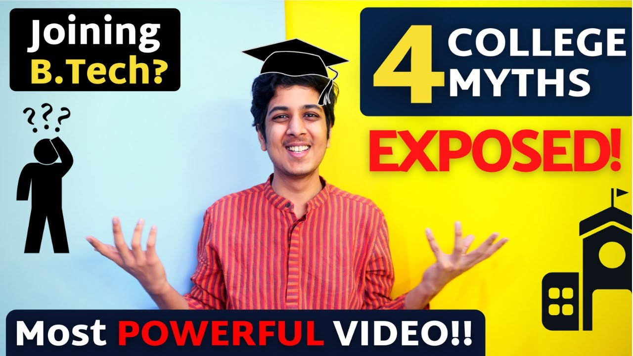 4 College Myths for Freshers EXPOSED 🔥| Yash Garg