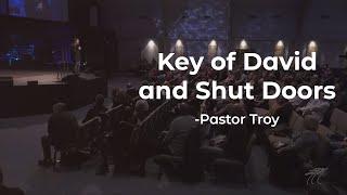 Key of David and Shut Doors   Troy Brewer   OpenDoor Church