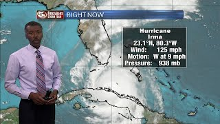 Hurricane Irma Forecast to Florida 9/9/17