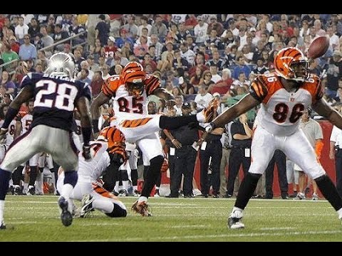 NFL Non-Kickers Kicking
