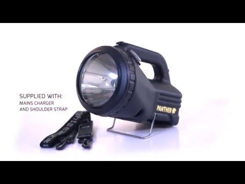 NightSearcher Panther XHP LED Rechargeable Searchlight Torch