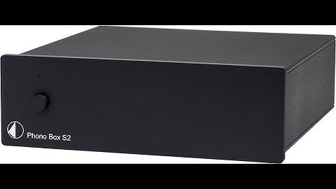 Pro-Ject Phono Box S2 - unboxing