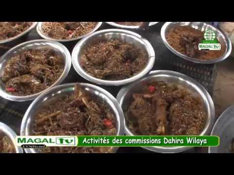 Activités de la commission chargée de la cuisine(Dahira Wilaya)