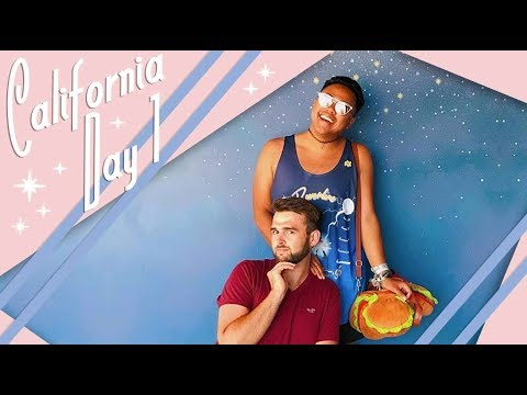 California | Day 1 Vlog | Disney California Adventure | July 2017 | Adam Hattan
