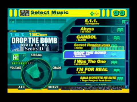 PS2) DDRMAX -Dance Dance Revolution- Full Song