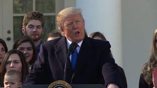 Trump addresses anti-abortion rally in Washington