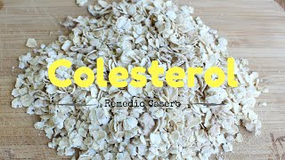 Reduce el Colesterol Naturalmente. {Lower your cholesterol naturally}