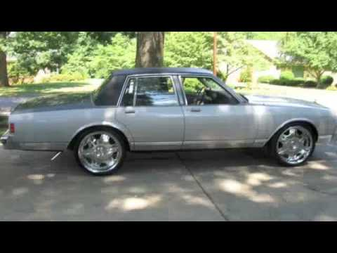 1985 Chevrolet Caprice Classic On 22's Slideshow