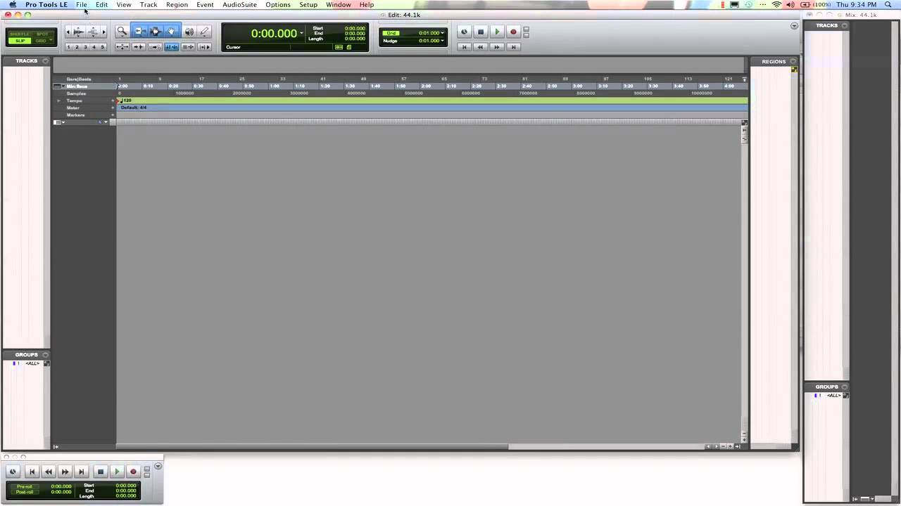 How To Import Protools Session of Higher Sample Rate - YouTube