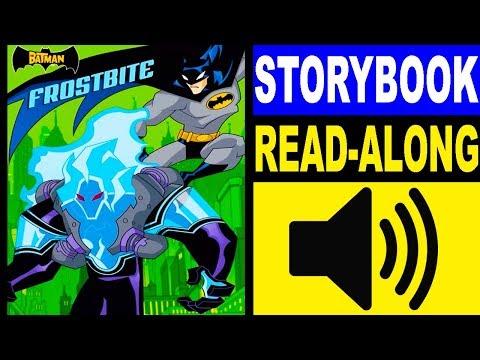 Batman Read Along Storybook, Read Aloud Story Books, Books Stories, Batman - Frostbite