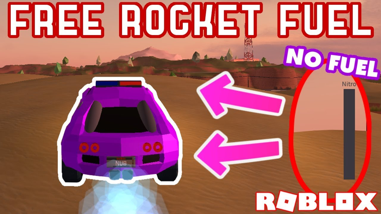 Free Rocket Fuel While Empty Roblox Jailbreak Mythbusting 8