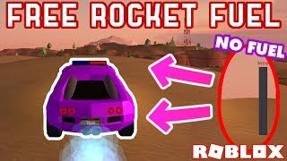 FREE ROCKET FUEL WHILE EMPTY!? - Roblox Jailbreak Mythbusting #8