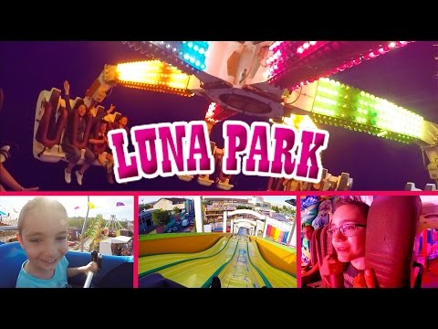 VLOG - Journée de Folie à LUNA PARK ! - Manèges & Attractions