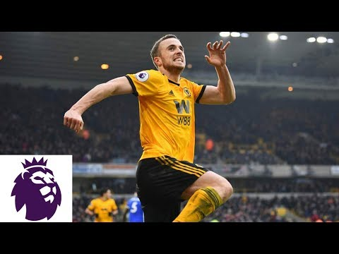 Diogo Jota scores hat trick in thrilling Wolves win v. Leicester City | Premier League | NBC Sports