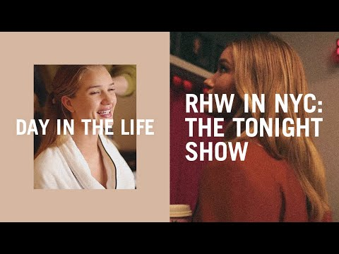 Video Diary: A Week In The Life Of Rosie Huntington-Whiteley In New York City