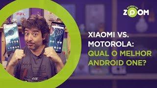 Xiaomi vs Motorola - Qual o melhor Android One? | DANDO UM ZOOM #123